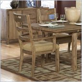 Homelegance Oxenbury Arm Chair in Weathered Driftwood(Set of 2)