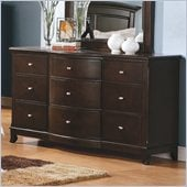 Homelegance Chico Dresser in Dark Cherry