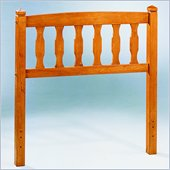 Homelegance Youth Twin Headboard in Oak Finish