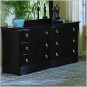 Homelegance Syracuse Dresser in Merlot