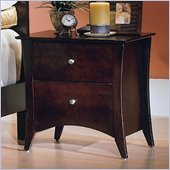 Homelegance Borgeois 2 Drawer Nightstand
