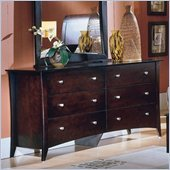 Homelegance Borgeois 6 Drawer Dresser in Cherry