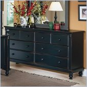 Homelegance Pottery Black Dresser