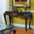 ADD TO YOUR SET: Homelegance Gladstone Sofa Table with Marble Top