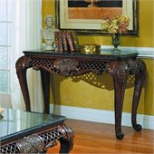 Homelegance Gladstone Sofa Table with Marble Top