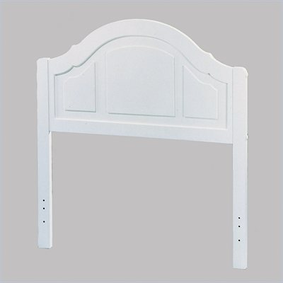 Homelegance Youth Panel Headboard in White Finish
