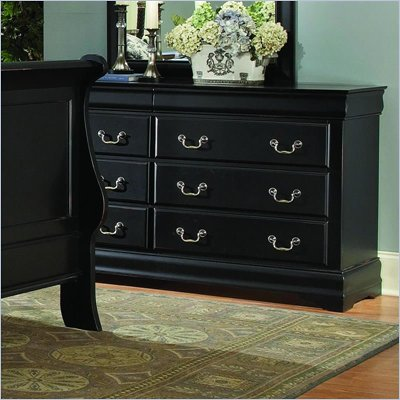 Homelegance Bastille Black Dresser