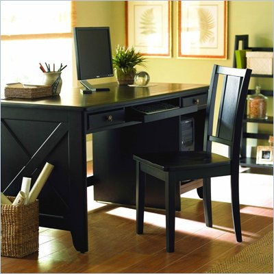 Homelegance Britanica Black Country Style Writing Desk