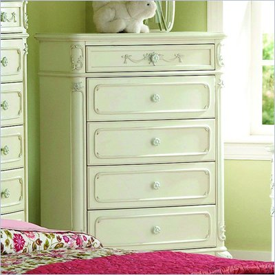 Homelegance Cinderella Chest in Ecru Finish