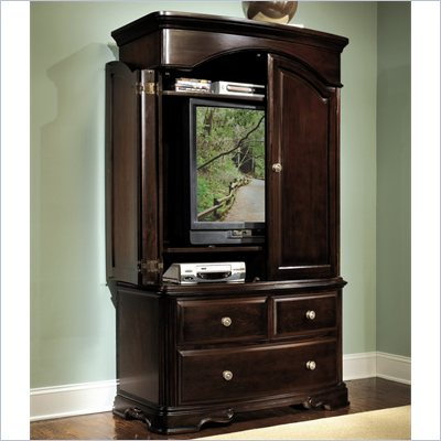 Homelegance Grandover Dark Cherry TV Armoire
