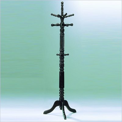 Homelegance Super Deluxe Cherry Standing Coat Rack with Umbrella Rack