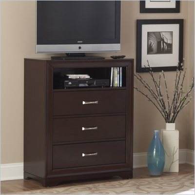Homelegance Hendrick TV Chest in Cherry