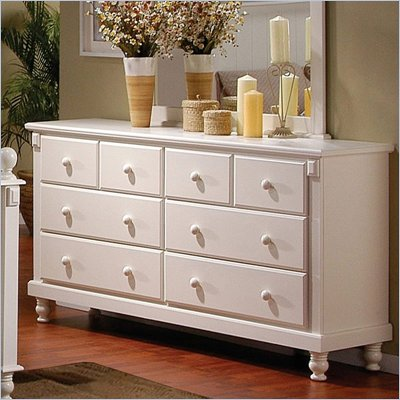 Homelegance Pottery White Dresser