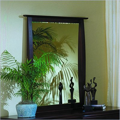 Homelegance Syracuse Mirror in Merlot