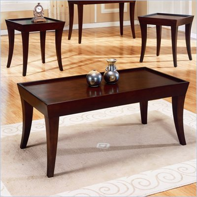 Homelegance Zen 3-Piece Occasional Tables