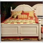 Wynwood Hadley Point Panel Bed in Antique Parchment Finish