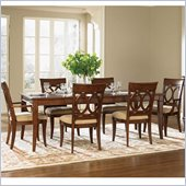 Wynwood Westhaven Casual Dining Table in Dried Fig Cherry Finish