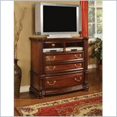 Wynwood Granada Media Chest in Cordillera Pine 