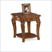 Wynwood Cordoba End Table w/ Wood Top in Burnished Pine