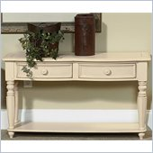 Wynwood Hadley Pointe Sofa/Console Table in Antique Parchment