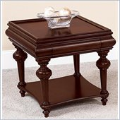 Wynwood Harrison End Table in Umber Cherry