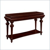Wynwood Harrison Sofa/Console Table in Umber Cherry