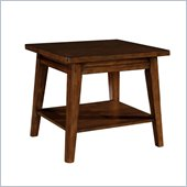 Wynwood SBH End Table w/ Wood Top in Tobacco 