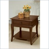 Wynwood Westhaven End Table in Dried Fig