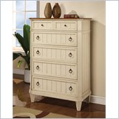 Wynwood Garden Walk Drawer Chest in Latte 