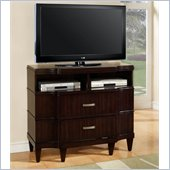 Wynwood Vinings 2 Drawer Media Chest in Bordeaux Finish