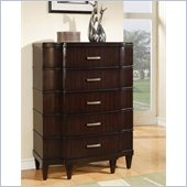 Wynwood Vinings 5 Drawer Chest in Bordeaux Finish