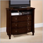 Wynwood Sutton Place Media Chest in Espresso Finish