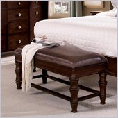 Wynwood Sutton Place Bench in Espresso Finish
