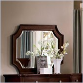 Wynwood Sutton Place Landscape Mirror in Espresso Finish