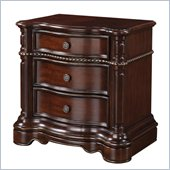 Wynwood Heritage Manor Night Stand in Meritage Cherry Finish