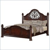 Wynwood Heritage Manor Bed in Meritage Cherry Finish