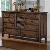 Wynwood Newberry Dresser in Antique Oak Finish