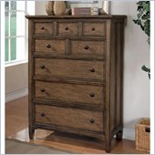Wynwood Newberry Drawer Chest in Antique Oak Finish