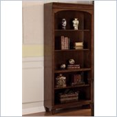 Wynwood Westhaven Bunching Bookcase in Dried Fig Cherry