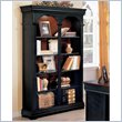 ADD TO YOUR SET: Wynwood Marlowe Double Bookcase in Black Cherry