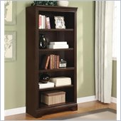 Wynwood Lancaster Bunching Bookcase in Warm Cherry
