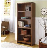 Wynwood Breton Square Bunching Bookcase in Coventry Cherry