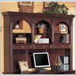 ADD TO YOUR SET: Wynwood Wellington Hutch in Garnet Cherry Finish