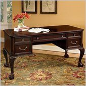 Wynwood Wellington Writing Desk in Garnet Cherry Finish