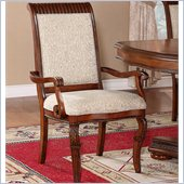 Wynwood Cordoba Upholstered  Arm Chair in Burnished Pine