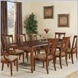 ADD TO YOUR SET: Wynwood Brendon Rectangular Dining Table in Hazelnut and Cabernet
