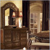 Wynwood Granada Landscape Mirror in Cordillera Pine Finish