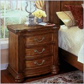 Wynwood Cordoba Nighstand in Burnished Pine Finish