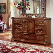Wynwood Cordoba Door Dresser in Burnished Pine
