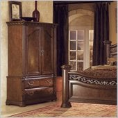 Wynwood Granada Armoire in Cordillera Pine Finish